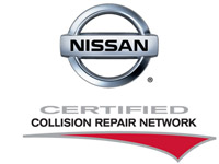 Nissan Certified Collision Care Provider Logo